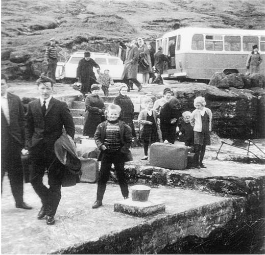 landing place at Futaklett
