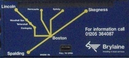 Brylaine Map