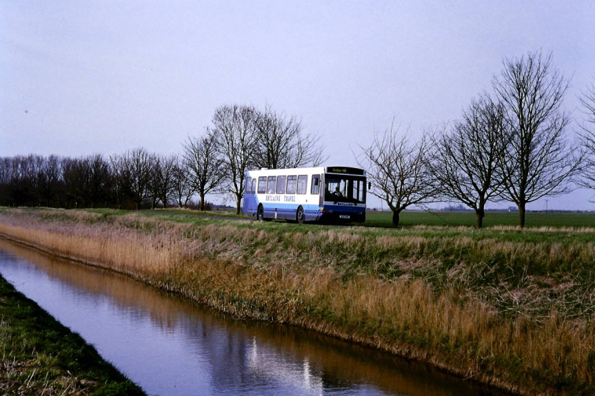 buses and water in Lincs