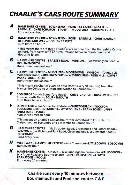 routes 1989