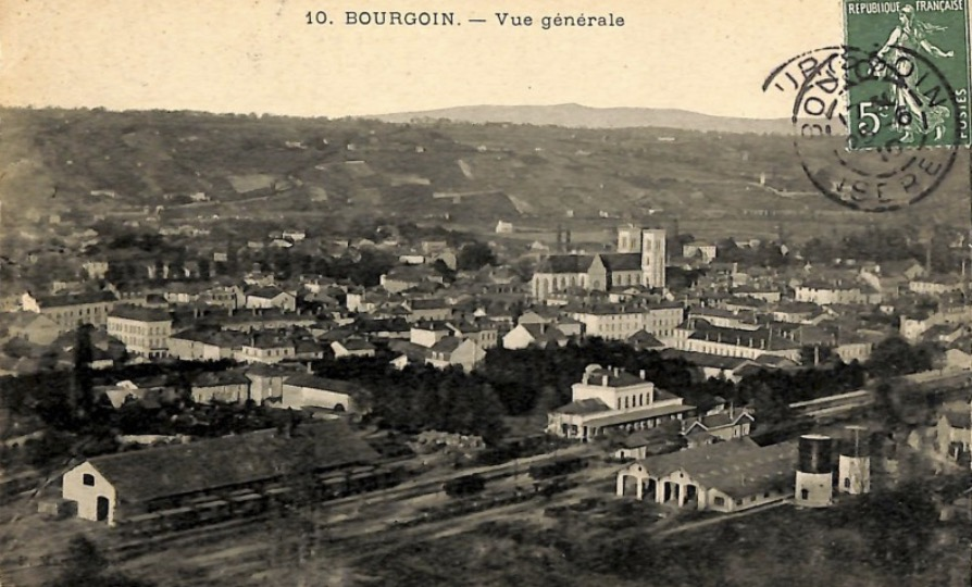 general view of Bourgoin