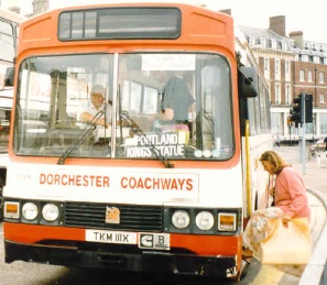 part of Bere Regis became Dorchester Coachways in 1994