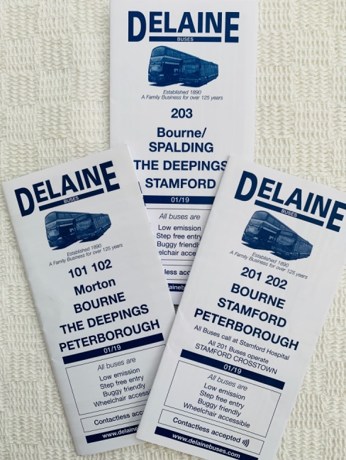 sample timetables 2019 The Delaine
