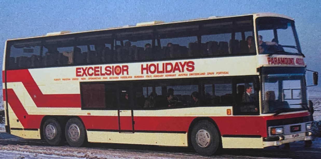 Excelsior Plaxton Neoplan XEL24 for the London service