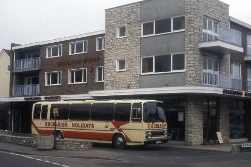 Sea Road coach station, Boscombe, Bournemouth