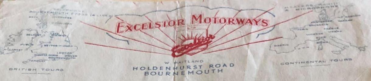 Excelsior old letterhead