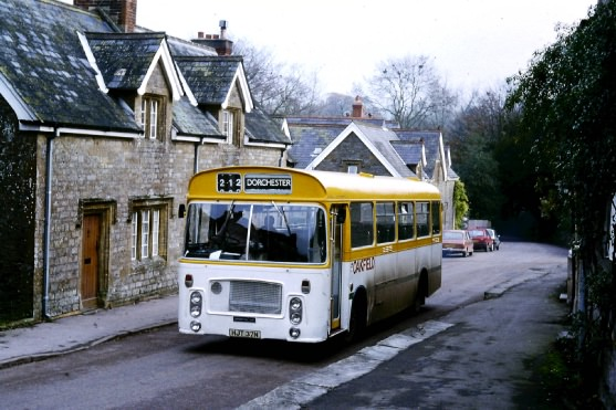 Oakfield in Evershot on the 212 service