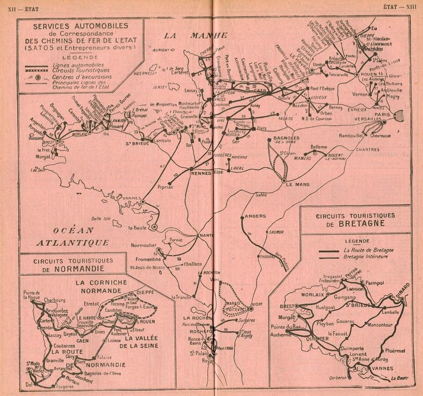 1933 SATOS map