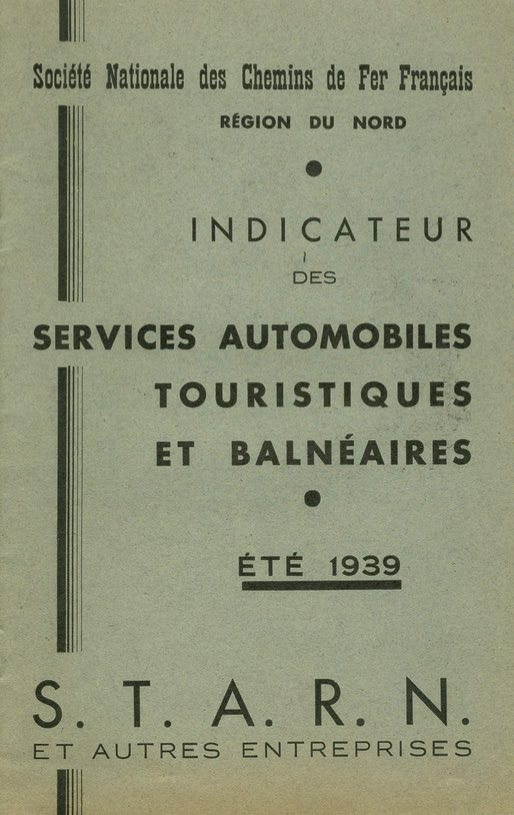 cover of 1939 STARN booklet
