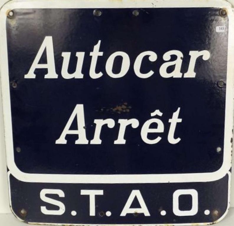 arret STAO stop sign