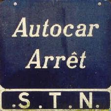 arret de car STN