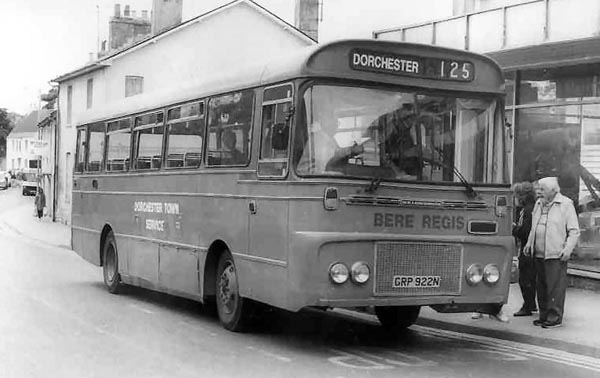 GRP 922N on town service