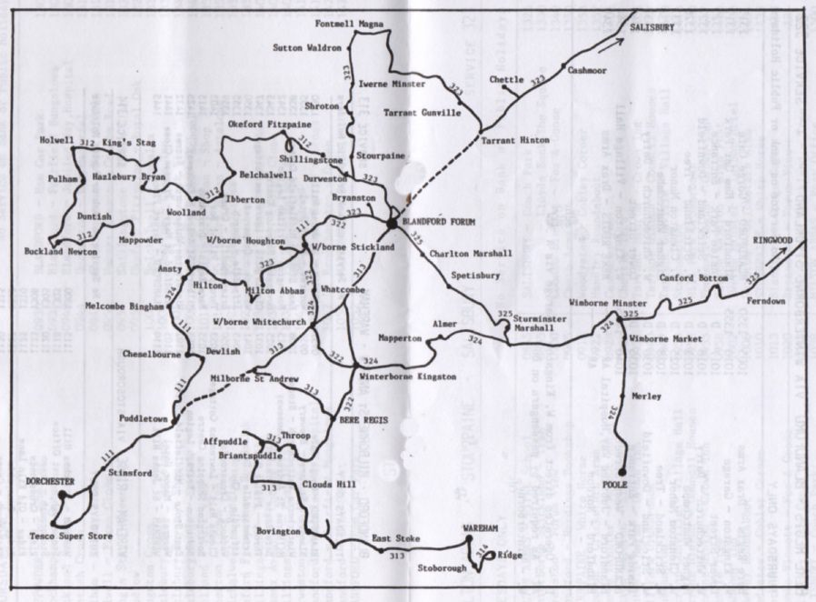 route map 1991