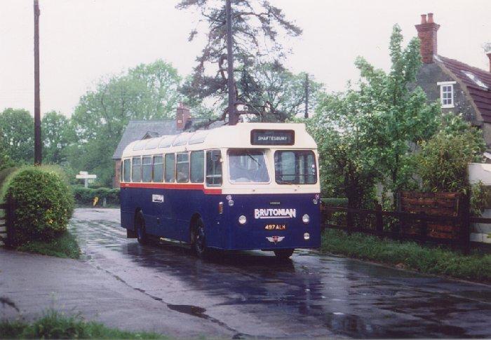 497 ALH in Motcombe 1984 (CD 12)