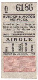 buddens ticket