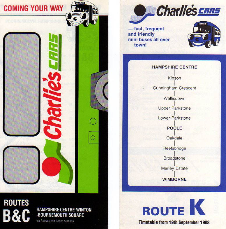 old and new timetables