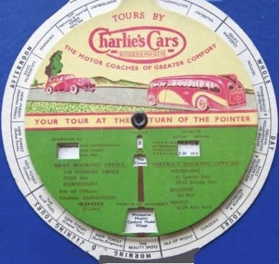 front of tours disc