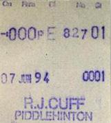 cuff almex ticket