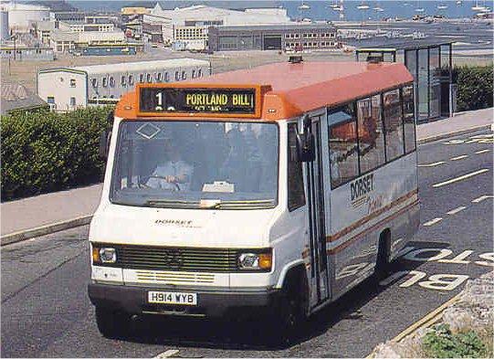 Dorset Transit Mercedes minibus