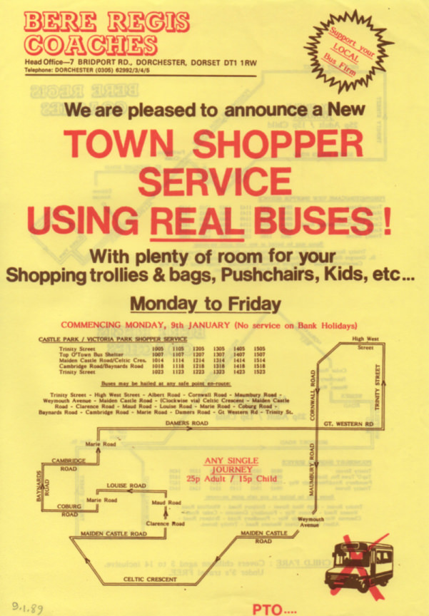 town service page one