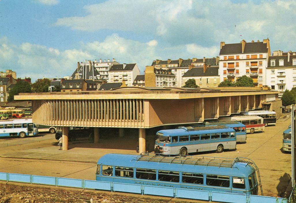 Rennes bus station