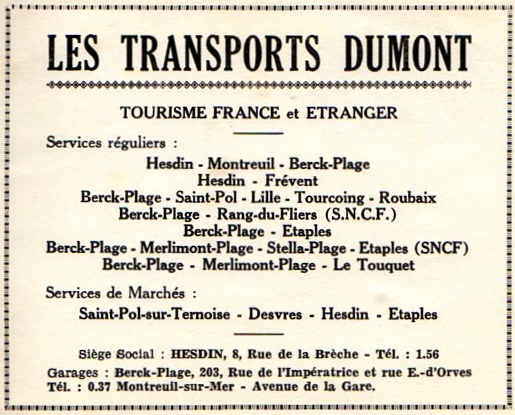 dumont advertisement 1966