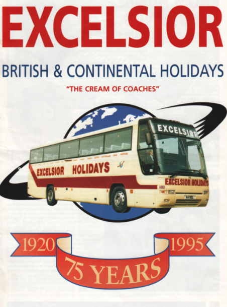 Excelsior 75th Anniversary brochure