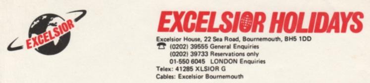 Excelsior letterhead