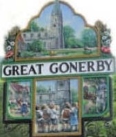 village sign great gonerby