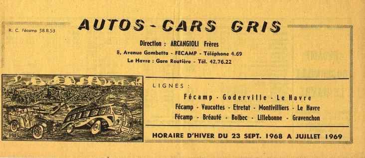 timetable 1968
