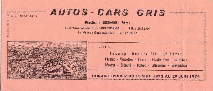 timetable 1973