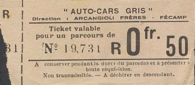 ticket 0F50