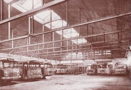depot of Autos-Cars Gris in rue Saint Nicolas 1947