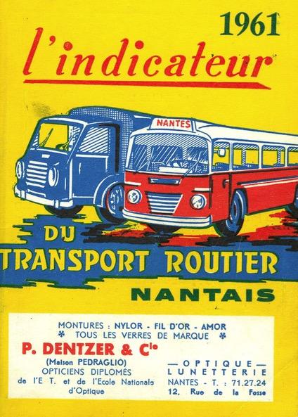 cover of 1961 Indicateur Nantais