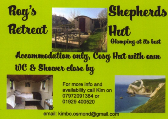 Lulworth Cove Dorset Roys Retreat Shepherds Hut