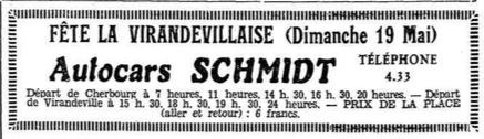 Virandeville fete May 1935