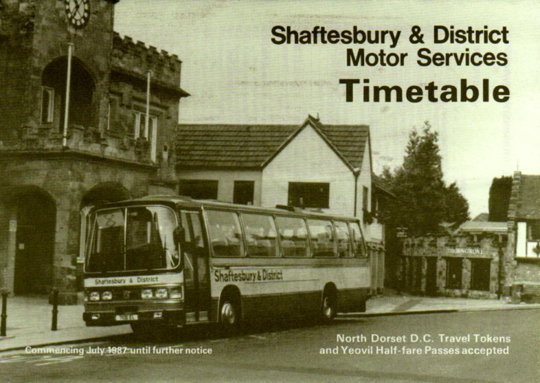 1987 timetable cover