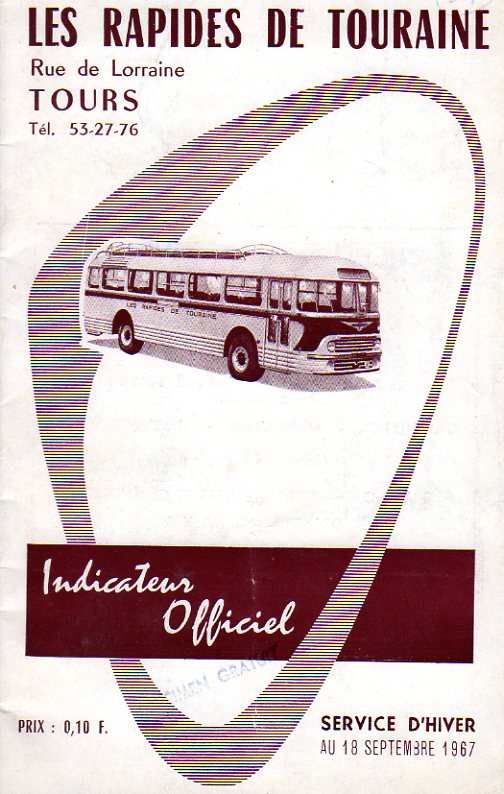 cover of timetable
