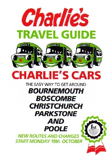 Charlies Cars timetable