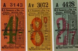 some Chambers tickets
