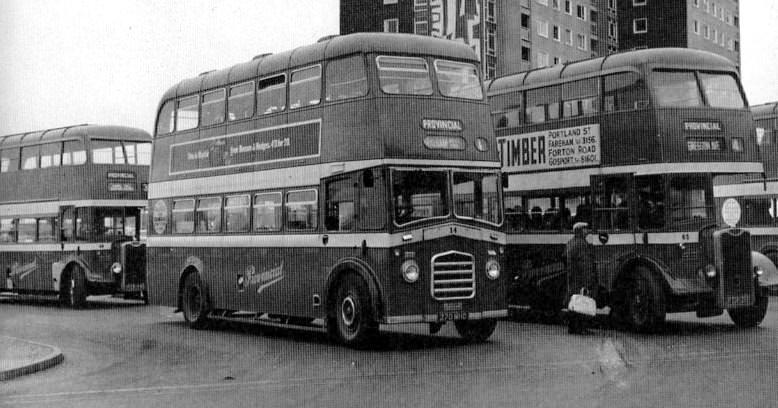 Gosport Ferry in 1965