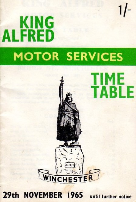 1965 timetable cover