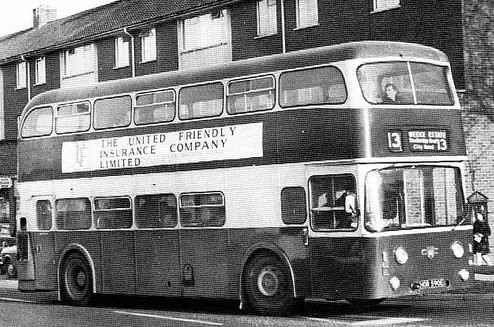 Route 13 Weeke Estate Atlantean 590