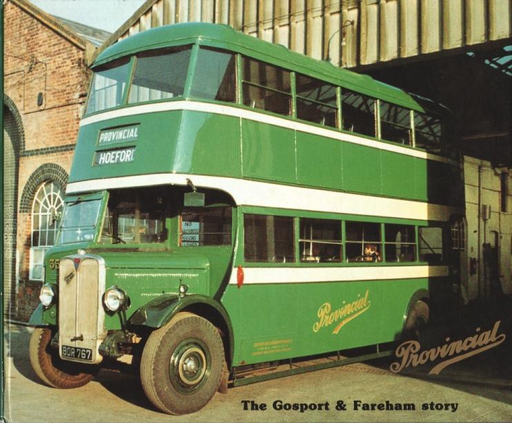 cover of the book 'The Gosport & Fareham story'