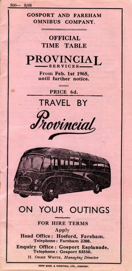 front cover 1965