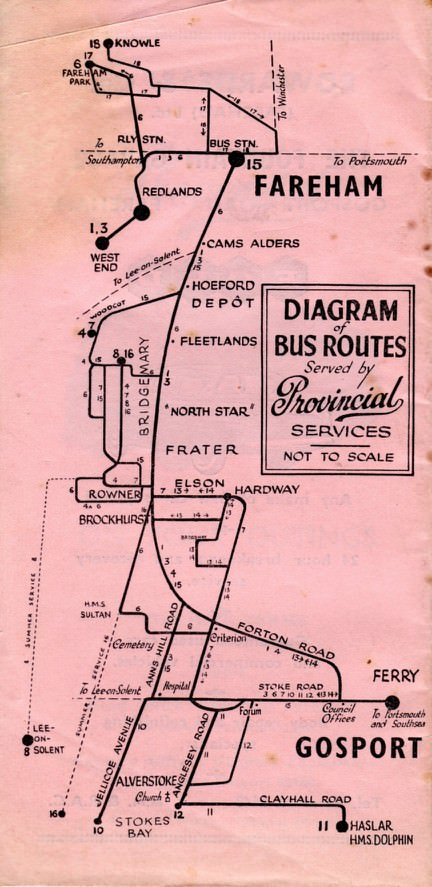 route map 1965