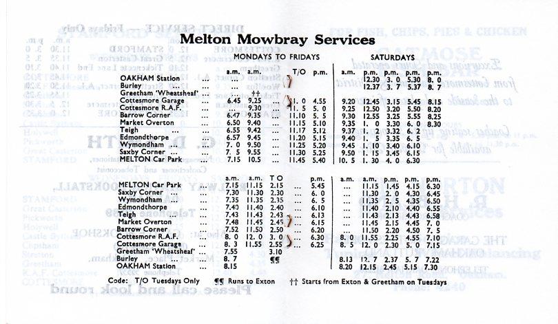 melton service 1979