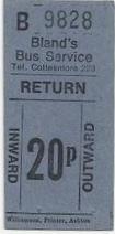 20p ticket post-decimal