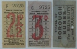 Borough Bus tickets